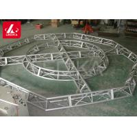 Buy cheap Customized Aluminum Lighting Truss , Curved Support Space Frame Truss from wholesalers