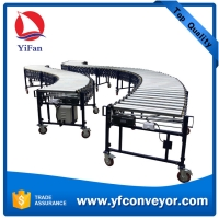Buy cheap Good price electric power retractable flexible expandable roller conveyor for product