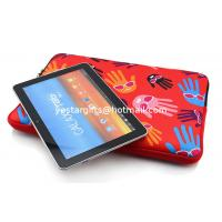 Wholesale Durable Palm Neoprene Tablet Sleeve Red With Two Zipper Closure from china suppliers