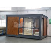 Buy cheap Customized Color Prefabricated Garden House , Mini Backyard Prefab Wood Cabins from wholesalers
