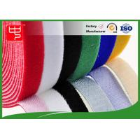 Buy cheap Color Slitting Double Sided hook and loop Roll waterproof hook and loop tape Black / white from wholesalers