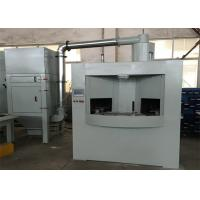Friendly Automatic Turntable Sandblasting Machine With 8 Workpieces And 8 Guns Manufactures