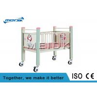 Buy cheap Enameled Steel Side Rails Pediatric Hospital Beds Full Length Protection from wholesalers