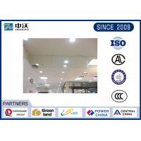 Wholesale High Safety Glass Smoke Baffle , Automatic Smoke Curtain Color Optional from china suppliers