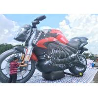 Buy cheap Cheap Air Inflated Character Balloon Custom Advertising Inflatable Motorbike from wholesalers