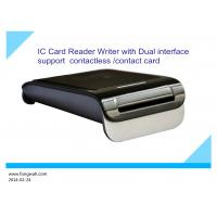 Buy cheap Contact IC Card + Contactless Card reader writer from wholesalers