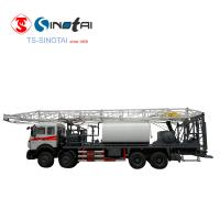 Buy cheap China Origin!!! Thick oil well used workover service JLXJ45 flushby rig from wholesalers