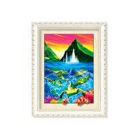 Buy cheap Turtles And Dolphins 5D Pictures With MDF Or PS Frame For Office Decoration from wholesalers
