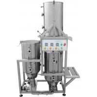 Gas Heated Home Microbrewery Equipment , Stainless Steel 50L Brewhouse Manufactures