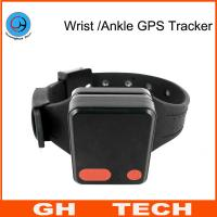 Wrist / Ankle Mini GPS Tracker Wristband Cut-Off Alarm For Alzheimer Prisoner Parolee Tracking Manufactures