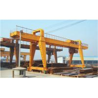 Buy cheap QME30T-50M-35M Remote Controlling Gantry Shipyard Cranes For Granite Industry from wholesalers