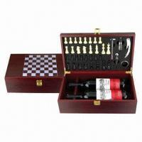 Buy cheap Wooden Wine Chess Accessory Box, Measures 240 x 125 x 305mm from wholesalers
