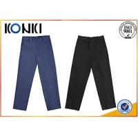 Buy cheap Anti - Wrinkle Custom Pants , Black Boys School Uniform Pants from wholesalers