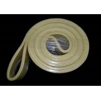Buy cheap w/o Resin Kevlar Felt Belt 480°C Temperature Resistance Yellow Black from wholesalers