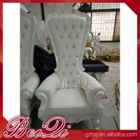 Buy cheap Cheap King Throne Chair Golden Style Furniture Manicure Pedicure High Back Throne Pedicure Spa Chair from wholesalers