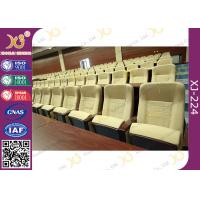 Buy cheap Paint Type Tip Up Flexible Mechanism Auditorium Chairs For Acoustic Room from wholesalers