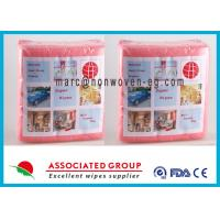 Food Grade Non Woven Wipes Cloth Wet Dry For Household Cleaning Tasks Manufactures