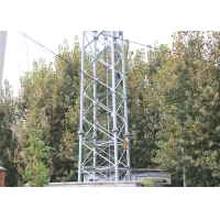 Buy cheap ASTM Standard Microwave Telecom Tower .4 Legs Wireless Communication Antenna Tower from wholesalers