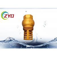 China Vertical Brass Plumbing Valves Silencing Spring Lifting Type Spring Brass Core on sale