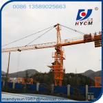 Buy cheap 60m Jib Tower Crane Manufacture HYCM-CRANE QTZ6010 Type 8ton Tower Crane from wholesalers