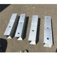 Buy cheap Gauge Perforated Square Tube Steel Fence Posts Q235 Material ASTM A1011 Grade 50 from wholesalers