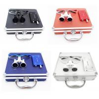 Wholesale 2.5times Colorful Dental Surgical Binocular Magnifying Loupe with LED Light from china suppliers