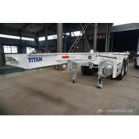 Buy cheap 20ft shipping container trailer chassis skeleton container trailer- TITAN VEHICLE from wholesalers