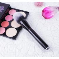 Buy cheap Wood Handle Cosmetics Blush Brush Synthetic Hair Handle Material product