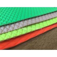 Buy cheap Lycra Embossed High Elastic Neoprene Fabrics Printed Wetsuit Fabric For Laptop Sleeve from wholesalers