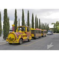 Buy cheap Birthday Train Rides Mini Express Trackless Train Hand Painted Technics from wholesalers