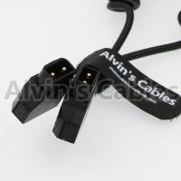 Buy cheap D - Tap Male To D - Tap Male Coiled Extension Cable For DSLR Rig Anton Bauer Battery from wholesalers
