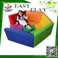 Buy cheap Safe And Fun Soft Play Sponge , Daycare Playground Equipment 450 * 100 * 60 Cm from wholesalers