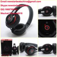 Buy cheap HOT!!!New black/white/red beats wireless studio v2 headphone beats solo 2 v2 headphone by dr dre from wholesalers
