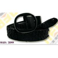 Buy cheap black 38mm female waist belts full of rivets for small order from wholesalers