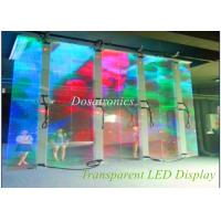 Buy cheap SMD 3535 1R1G1B P12mm Transparent LED Display Big Led Screens from wholesalers