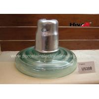 Buy cheap Zinc Sleeve Available Toughened Glass Insulator With Ball / Socket Connect Way from wholesalers