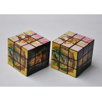 Buy cheap 3x3 Custom Magic Cube Full Color Printing For Commercial Advertising from wholesalers