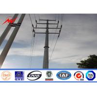 Buy cheap Hot Dip Galvanized 132kv 10m Electrical Power Pole for Electrical Transmission from wholesalers