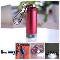 Wholesale super bright aluminum keychain torch for promotion from china suppliers