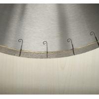 Buy cheap 450mm 18 Inch Porcelian Ceramic Tile Saw Blades Silver Welded J Slot Diamond product