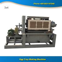 Buy cheap Professional recycling waste paper machine make pulp egg tray from wholesalers