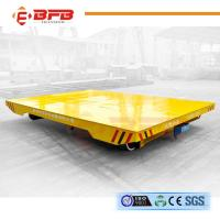 Buy cheap Flexible Heavy Duty Quad Steer Carts , Regular Maintenance Material Handling Trolley from wholesalers