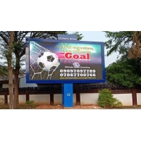 Buy cheap SMD3535 P10mm High Brightness Street Pole Advertising Boards from wholesalers