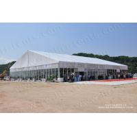 Buy cheap Luxury big tent with glass walls for events from Liri tent for export from wholesalers