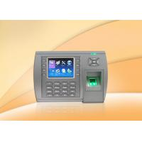 3.5 Inch TFT LCD Fingerprint biometric access control devices With Webserver , SSR