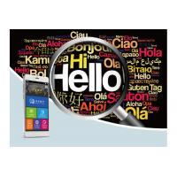 Buy cheap Touch Screen English To Spanish Voice Translator , Voice Language Translator Device V100 from wholesalers