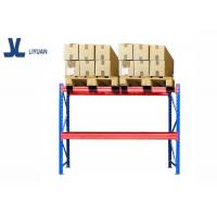 Buy cheap Powder coated steel heavy duty pallet racks industrial warehouse rack system from wholesalers