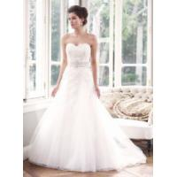 China 2014 Latest Full-Lengt Lace/Tulle Train Hotel Bridal Wedding Dress for Wedding Manufactures