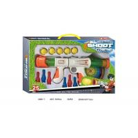 Buy cheap Air Powered EVA Shooting Gun Kids Sports Toys with Dart Targets Soft Foam Balls product