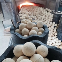 Buy cheap Thermal Insulation Balls High Alumina Refractory Balls For Hot Blast Stove Regenerator from wholesalers